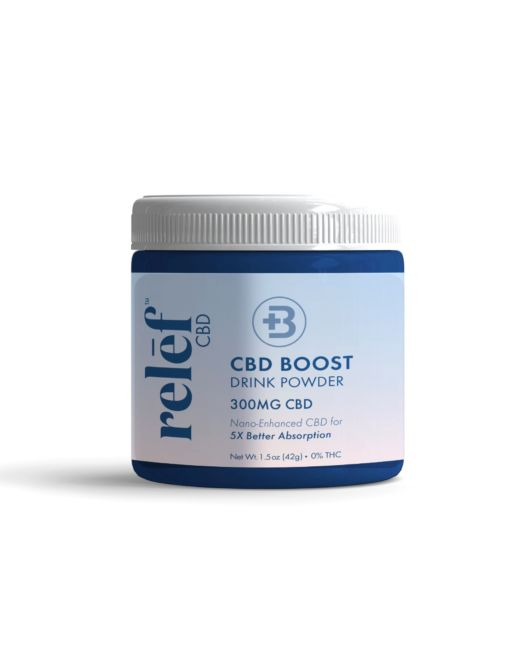 Boost Drink Powder Jar