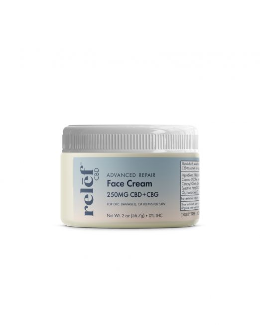 Relēf CBD Advanced Repair Face Cream