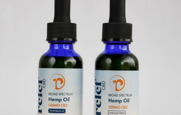 Broad Spectrum Hemp Oil Tinctures