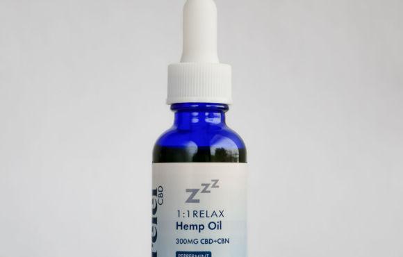 1:1 Relax Hemp Oil Tincture