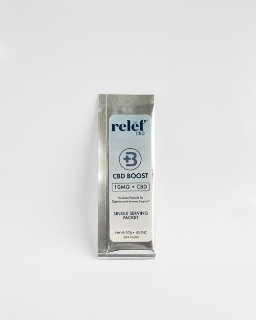 Relēf CBD Boost Drink Powder Packet